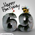 Happy Birthday 3D - 69. Geburtstag