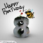 Happy Birthday 3D - 8. Geburtstag