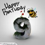 Happy Birthday 3D - 9. Geburtstag