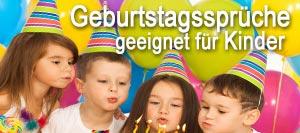Geburtstagssprüche geeignet für Kinder