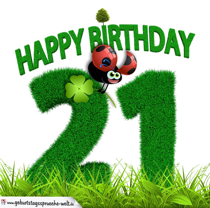 21 Geburtstag