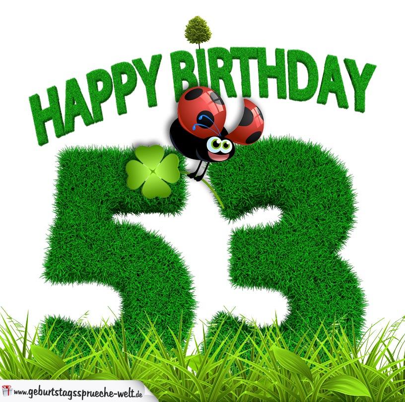 53. Geburtstag