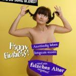 Der beste Tipp wie du jung bleibst - Coole Geburtstagskarte mit nackter Frau