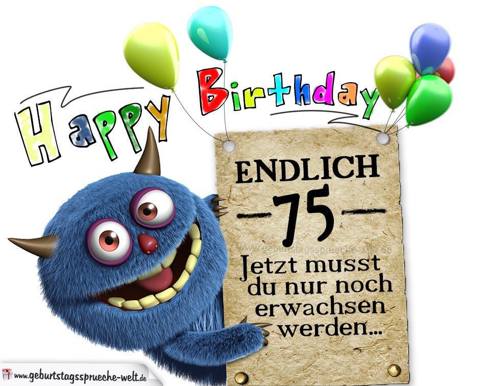 75 Geburtstag Lustig Sofiatraffic Info