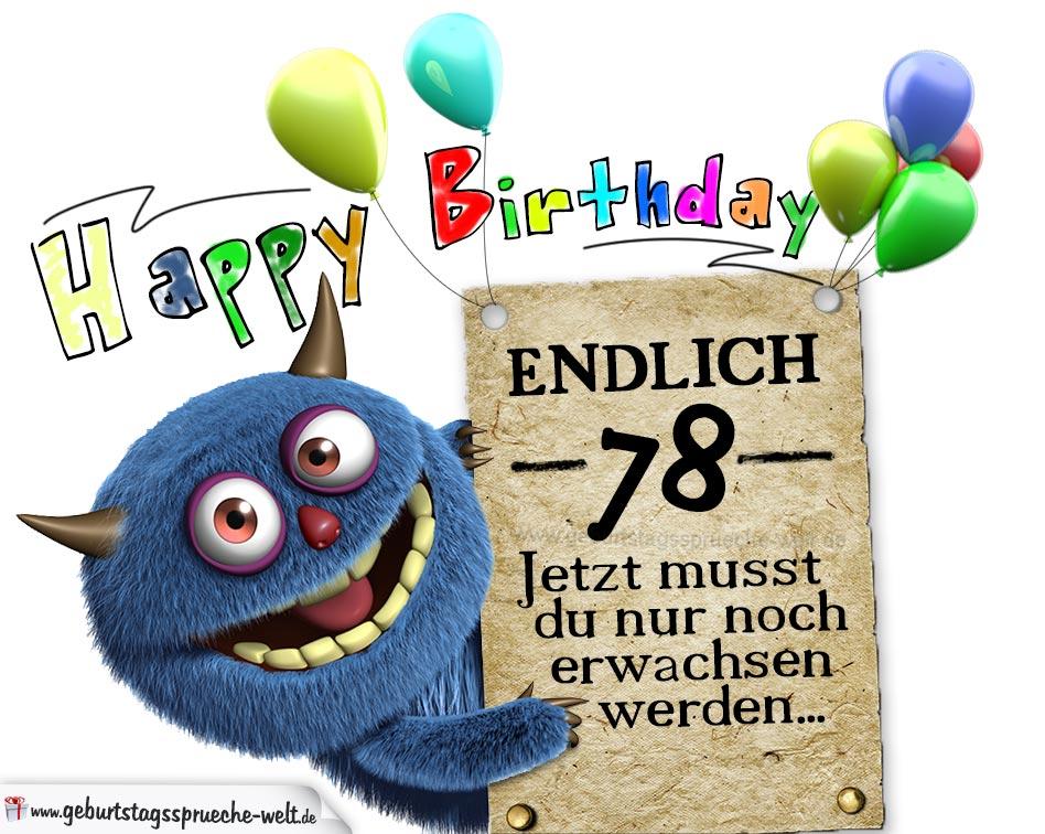 Lustig Glückwünsche Zum Geburtstag