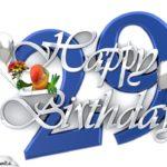 Happy Birthday 29