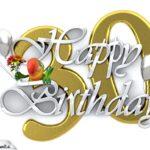 Happy Birthday 30
