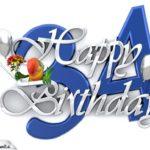Happy Birthday 34