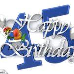 Happy Birthday 45
