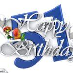 Happy Birthday 51