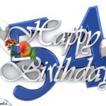 Happy Birthday 54
