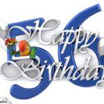 Happy Birthday 56