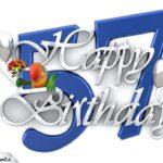 Happy Birthday 57
