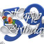 Happy Birthday 59