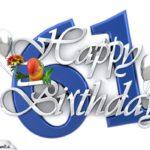 Happy Birthday 61