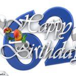 Happy Birthday 62