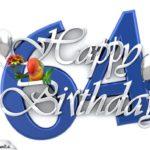 Happy Birthday 64