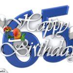 Happy Birthday 65
