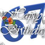 Happy Birthday 67