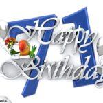 Happy Birthday 71