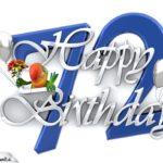 Happy Birthday 72