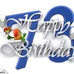 Happy Birthday 73