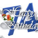 Happy Birthday 74
