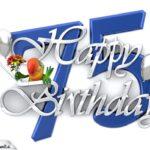 Happy Birthday 75