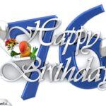 Happy Birthday 76