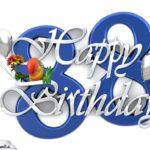 Happy Birthday 88