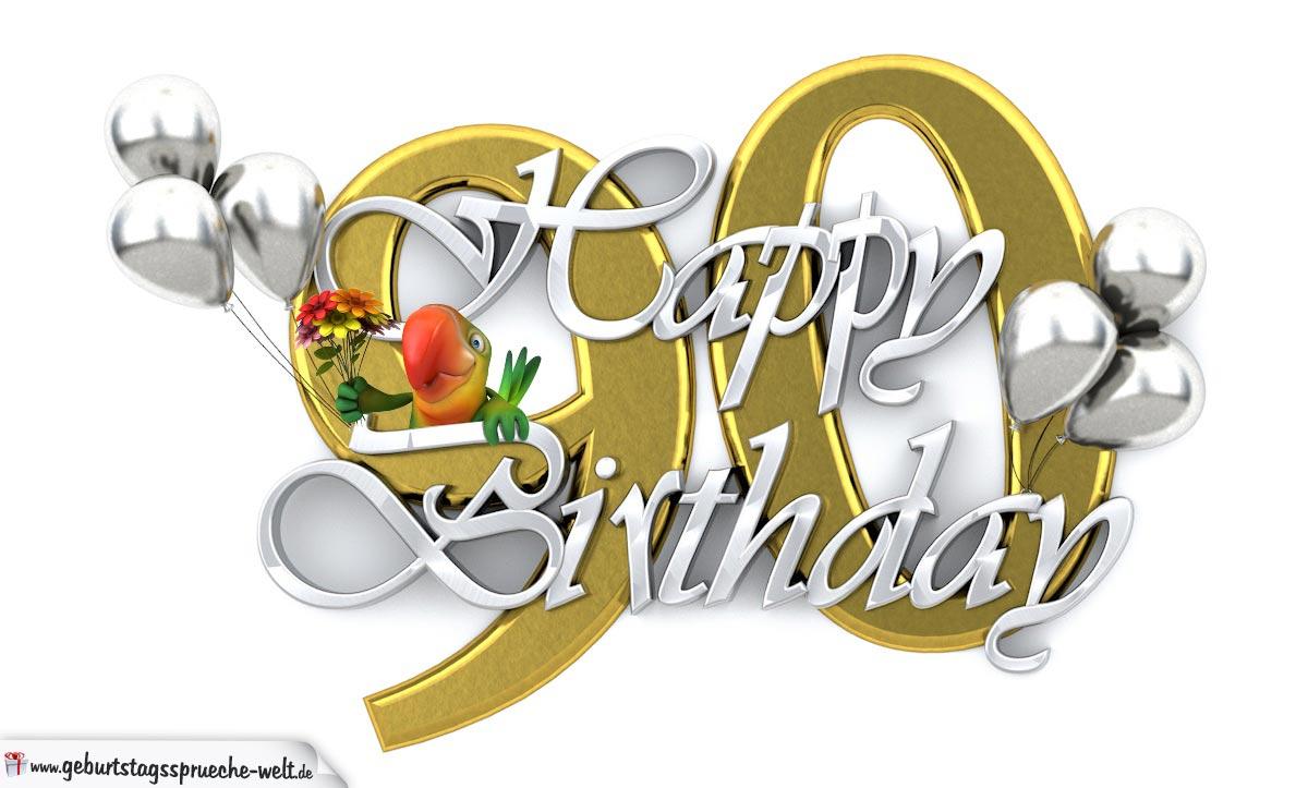 happy birthday 90 - geburtstagssprüche-welt