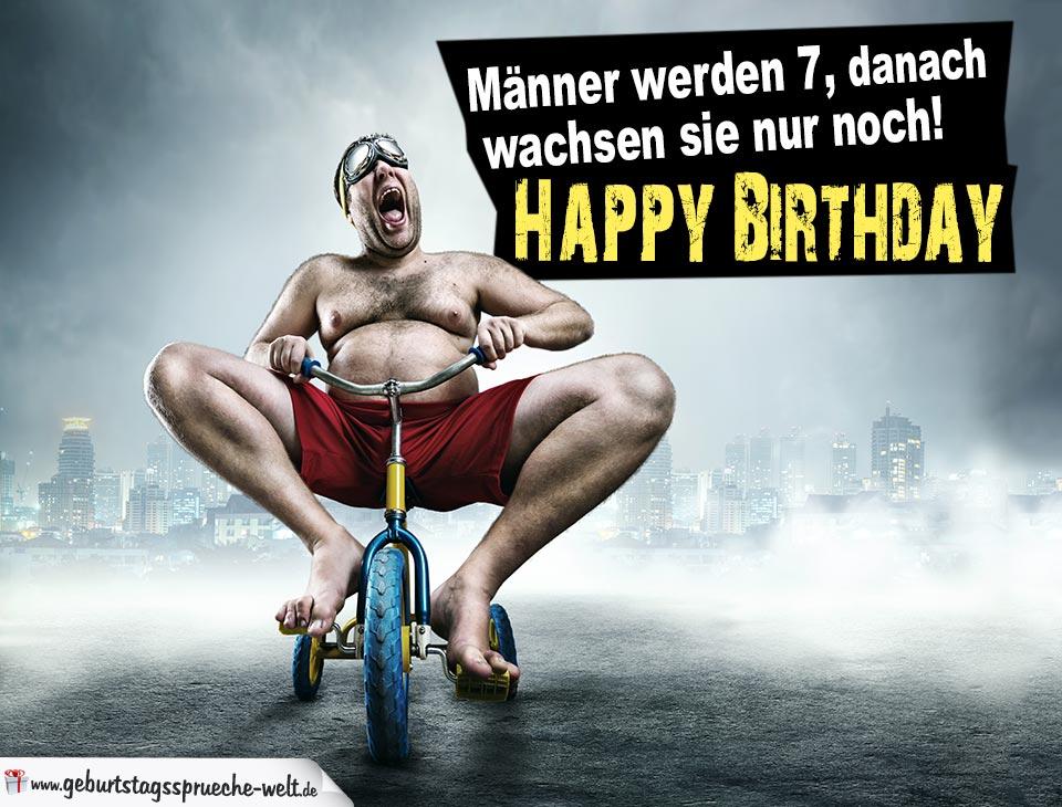 nackter mann happy birthday
