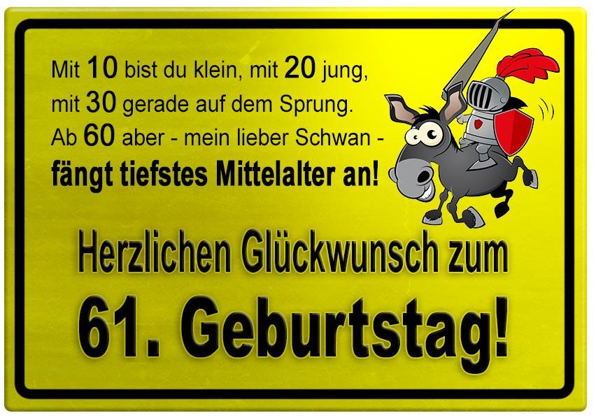 Zum 61 Geburtstag Sprüche   Directdrukken