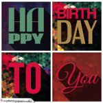 Happy Birthday Glückwunschkarte
