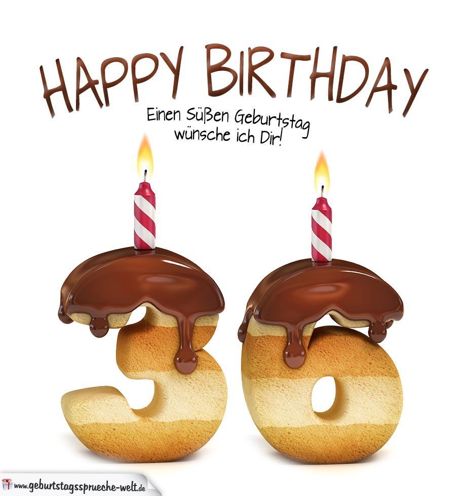 36 Geburtstag