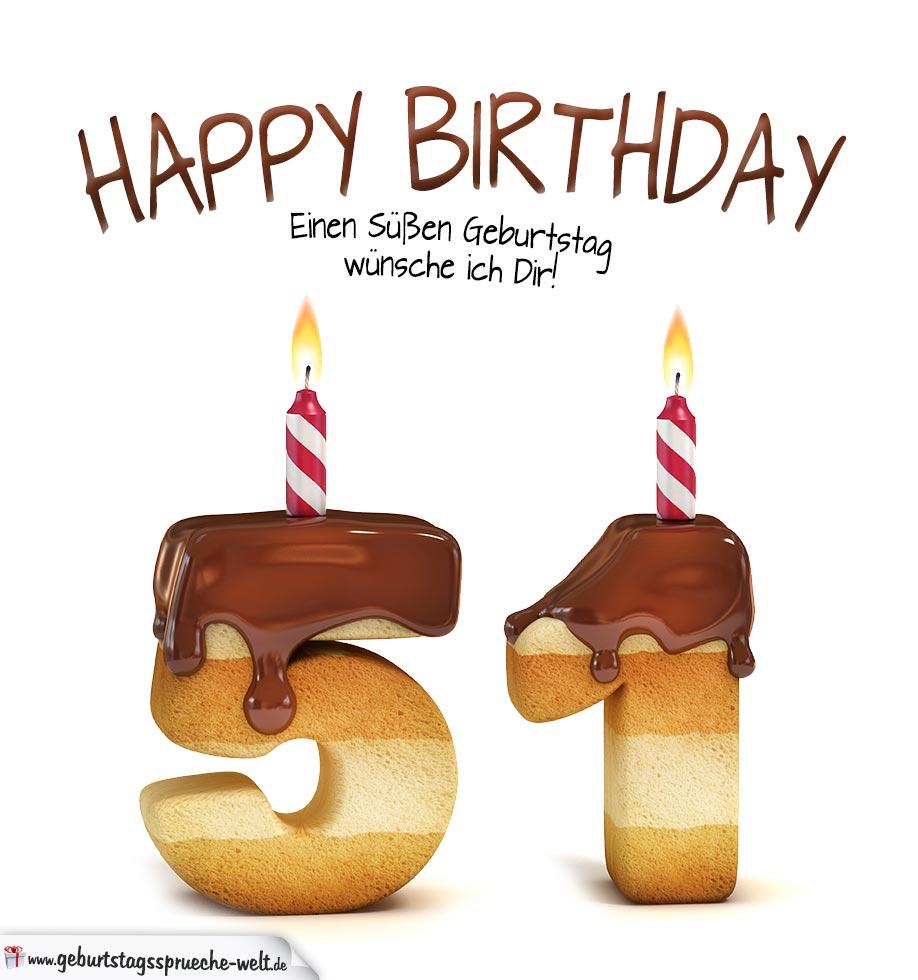 51. Geburtstag