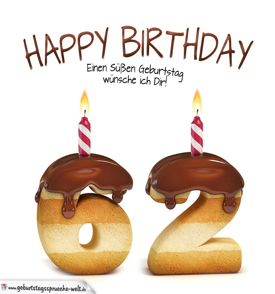 Geburtstagsspruche zum 62 geburtstag frau