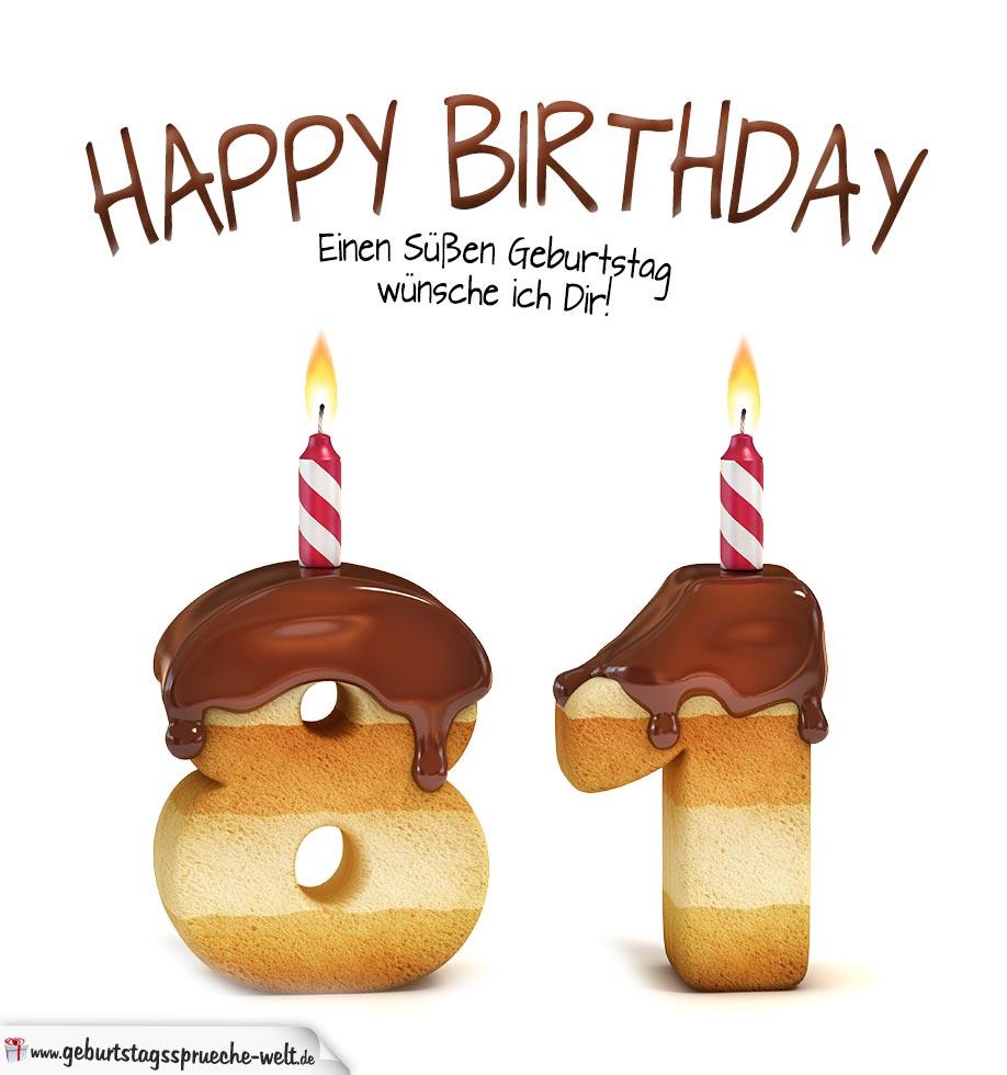 81 Geburtstag