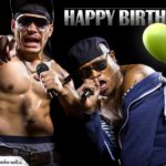 Rap Geburtstagskarte Happy Birthday