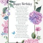 Fröhliches Gedicht zum Geburtstag