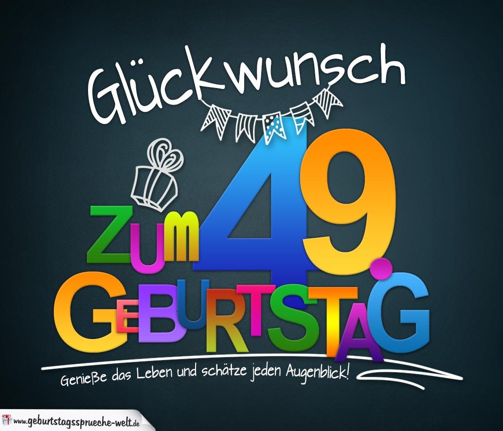 Spruchkarte Zum Geburtstag Mit Schönem Spruch Zum Nachdenken