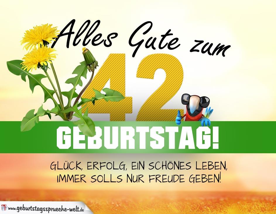 Geburtstag   Geburtstagskarte ALLES GUTE Mit Schönem .