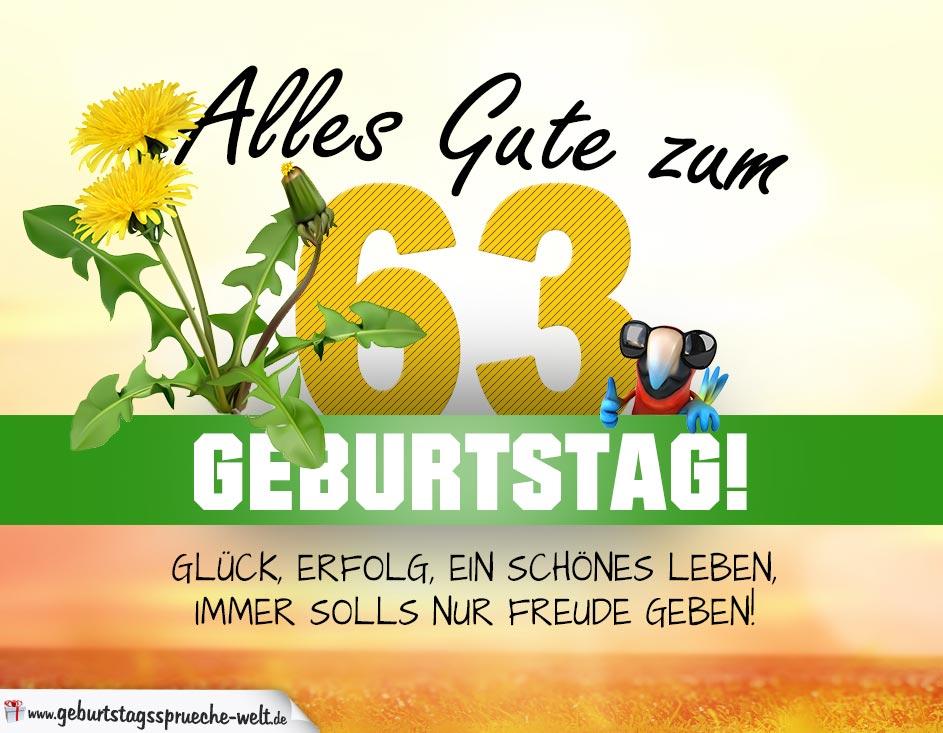 Sprüche Zum 63 Geburtstag Directdrukken