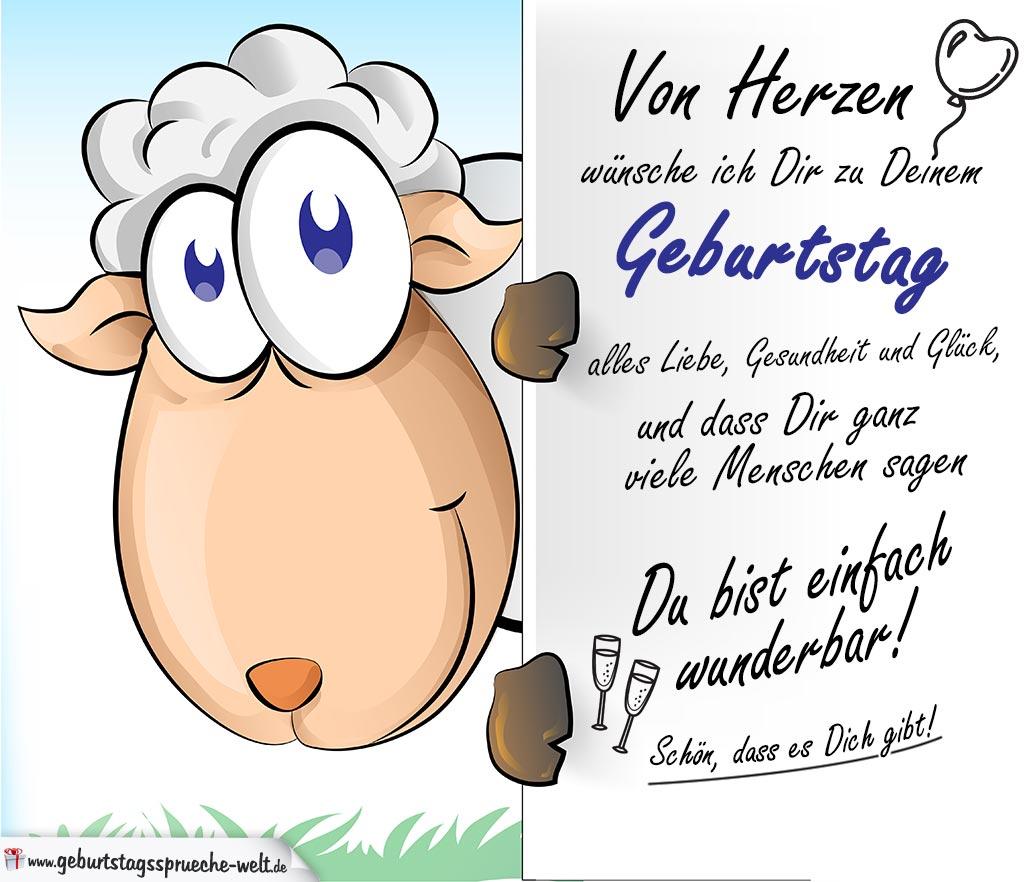 happy birthday liebe ann Geburtstagsspr%C3%BCche-mit-Schaf-Karte-zum-Geburtstag-mit-Gl%C3%BCckwunsch
