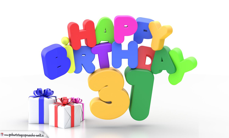 Geburtstag 31