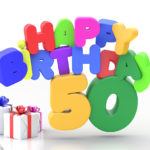 Happy Birthday 50 Geburtstag