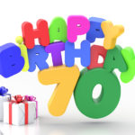Happy Birthday 70 Geburtstag