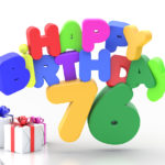 Happy Birthday 76 Geburtstag