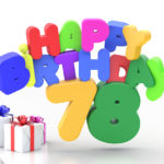 Happy Birthday 78 Geburtstag