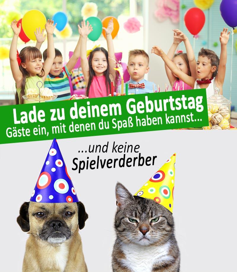 Lustige Gäste - Coole Geburtstagsfeier